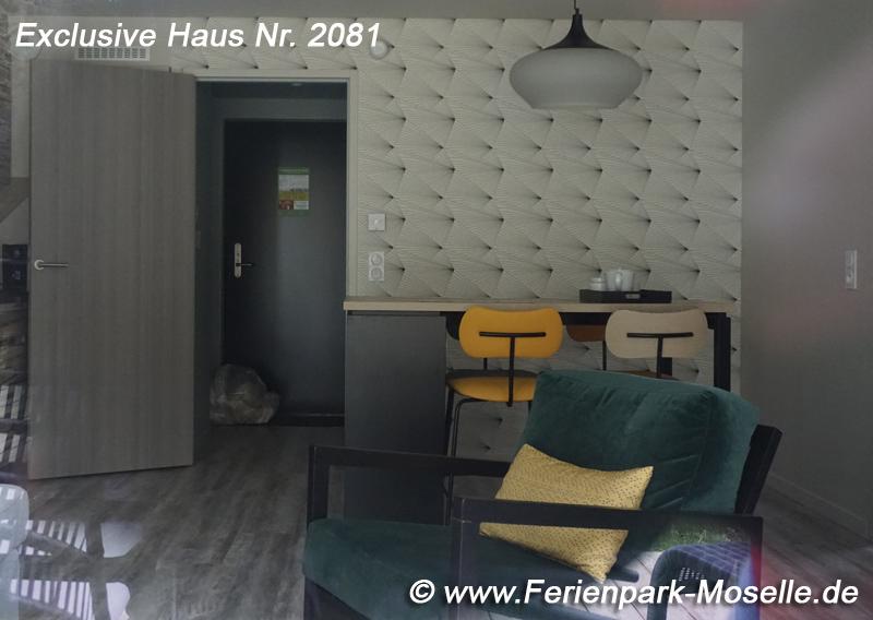 Exclusive Haus 2081 im Centerparc Moselle